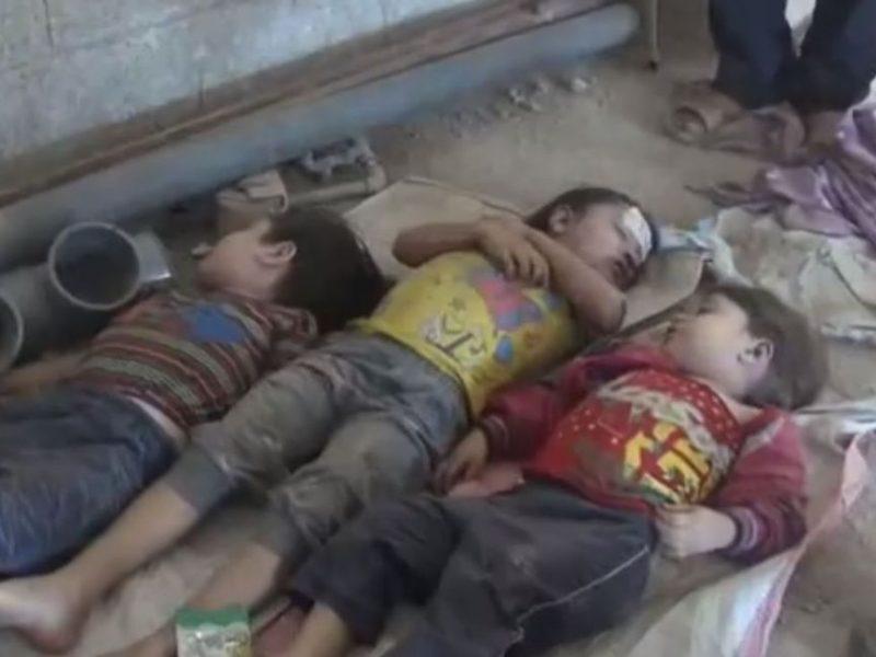 Giftgas-Massaker in Syrien