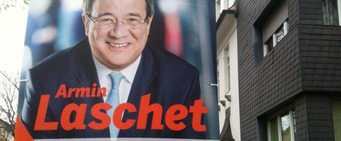 Wahlplakat Armin Laschet LTW 2017