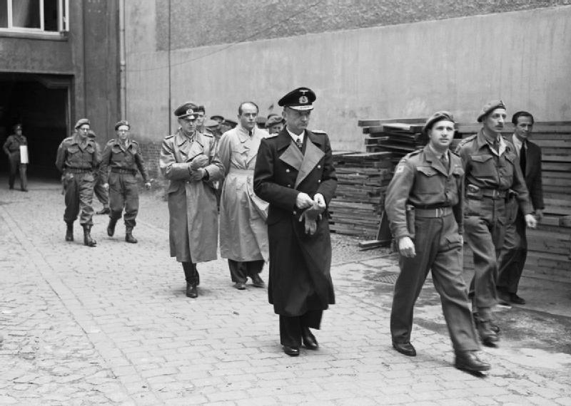 Albert Speer, 23. Mai 1945, Festnahme in Flensburg
