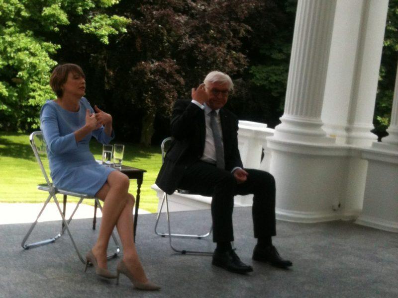 Bundespräsident im Gespräch