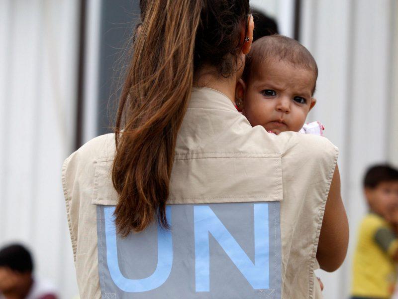 Syrien-Flüchtlinge, Copyright: UNHCR/S. Malkawi
