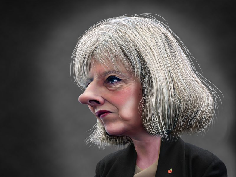 Theresa_May Karrikatur