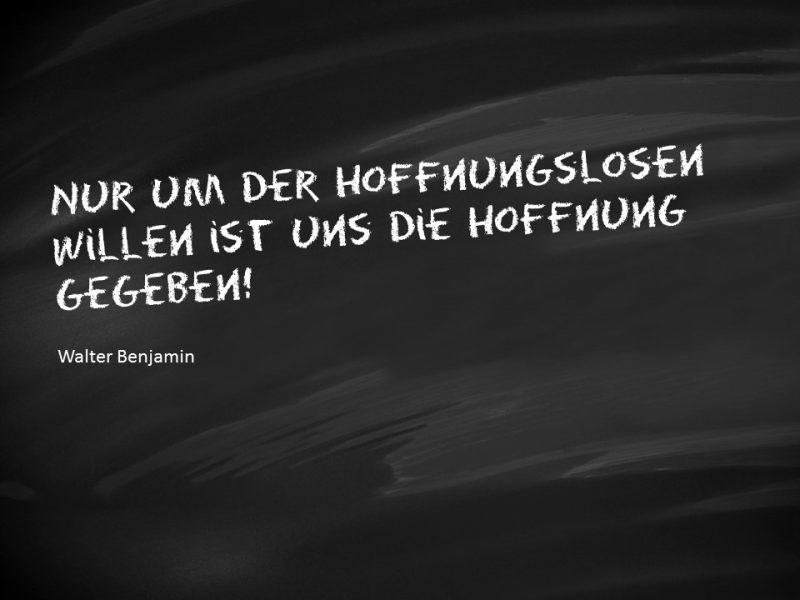 Zitat Walter Benjamin