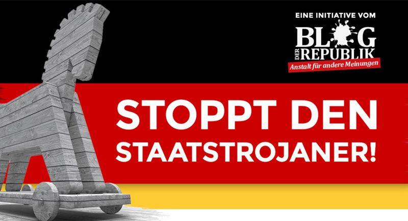 Staatstrojaner stoppen!