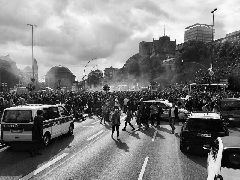 Demonstration G20 Hamburg