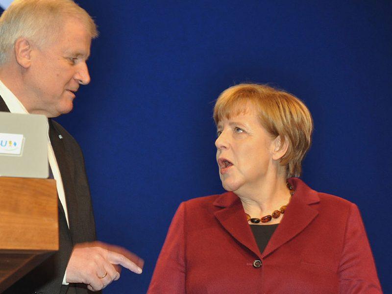 Seehofer und Merkel 2015