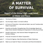 Global High-Level Panel on Water and Peace