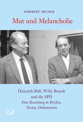 Heinrich Böll und Willy Brandt