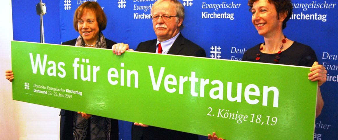 Pressekonferenz zum Kirchentag 2019 in Dortmund