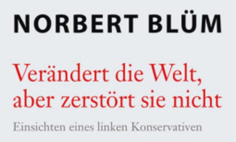 Norbert Blüm Buchtitel