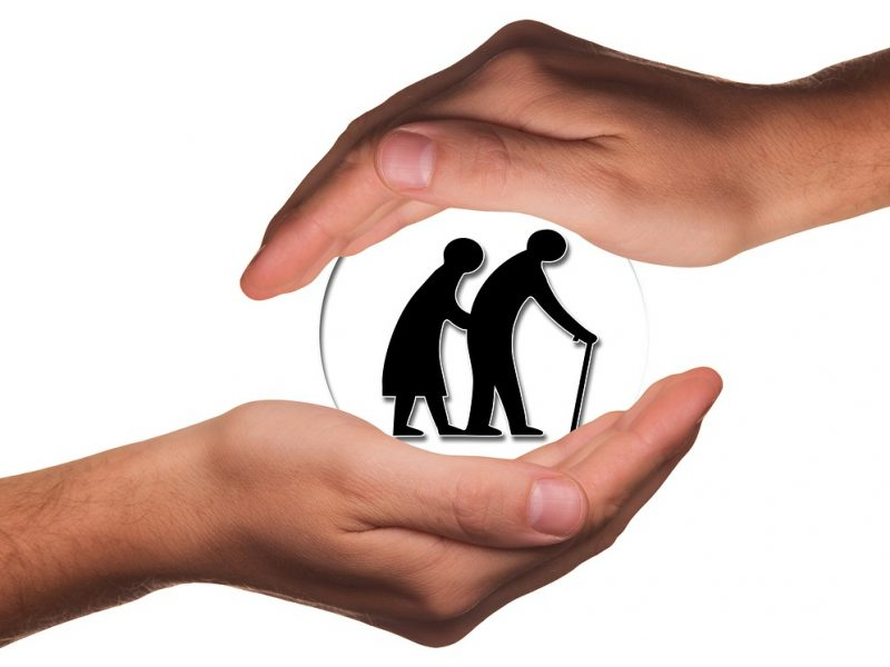 Symbolbild Altenpflege