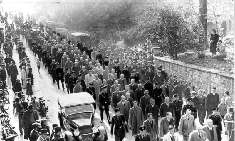 Verhaftungen und Transport in Konzentrationslager jüdsicher Mitbürger nach dem 9. November 1938