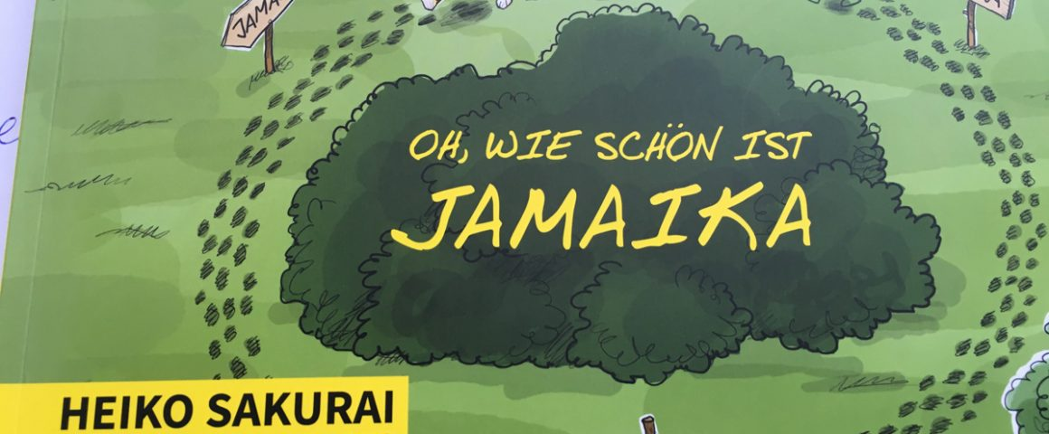 Jamaika, ein Cartoon von Heiko Sakurai