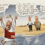 Martin Schulz geht über das Wasser