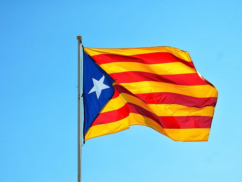 Flagge Katalononiens