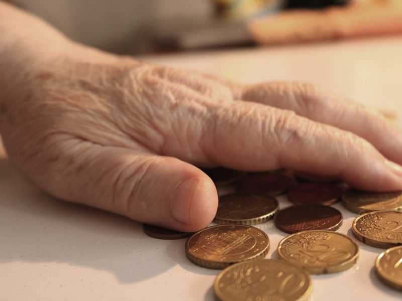 Altersarmut - Geld