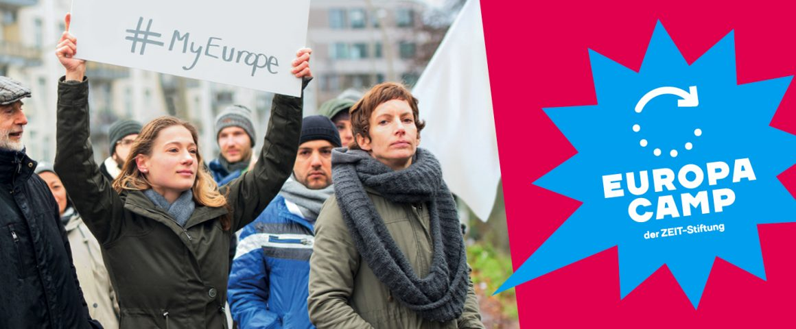 EuropaCAmp der ZEIZT-Stiftung in Hamburg am 2./3.2.2018