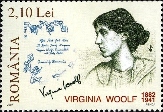 Virginia Woolf Briefmarke