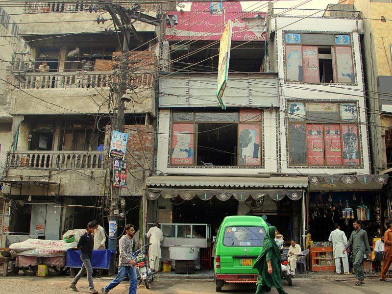 Straßenszene Pakistan