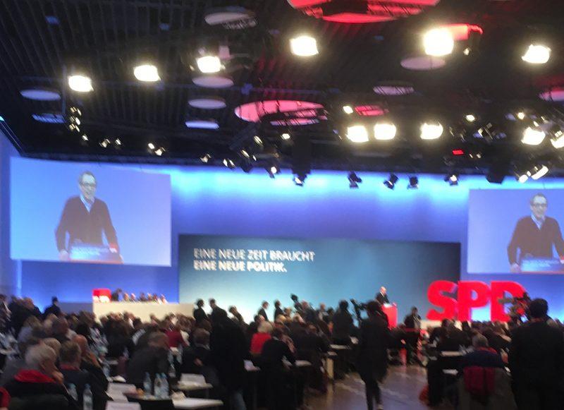 SPD-Sonderparteitag Bonn