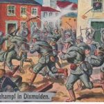 Straßenkampf in Dixmuiden