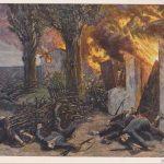 """Hans Baluschek, """"Die Strafe """"(Franktireurs)"""