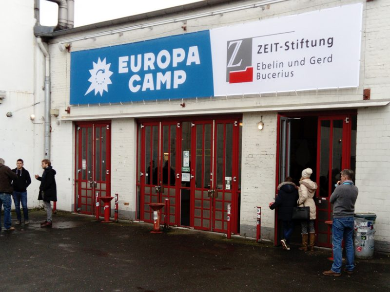 "EuropaCamp ""Auf KAmpnagel"" Hamburg"