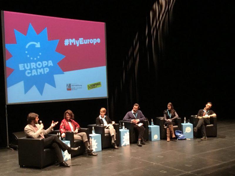 EuropaCamp Eröffnungsveranstaltung