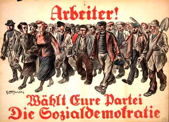 SPD Wahlplakat 1924