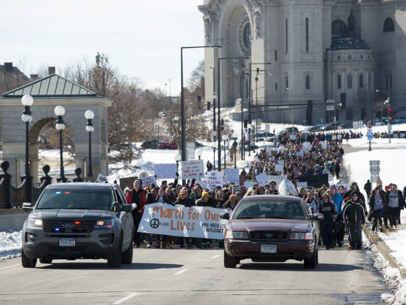"""MArch for our lives"", Minnesota"