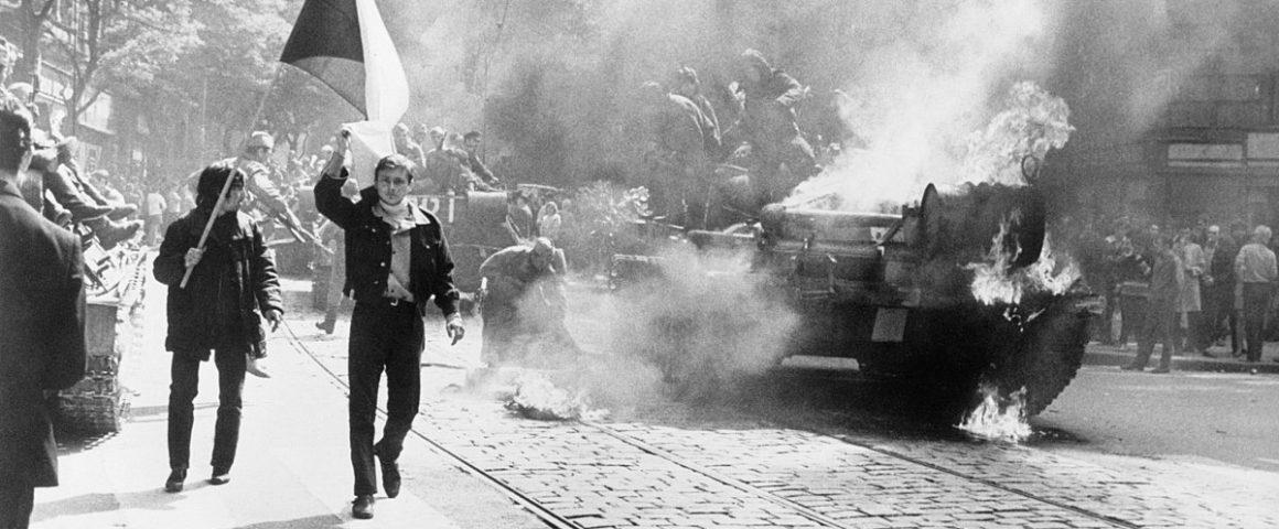 1968 - Einmarsch der Sowjets in der Tschechischen Republik