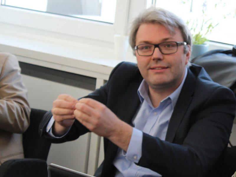 Neuer LMK Dirketor Marc Eumann