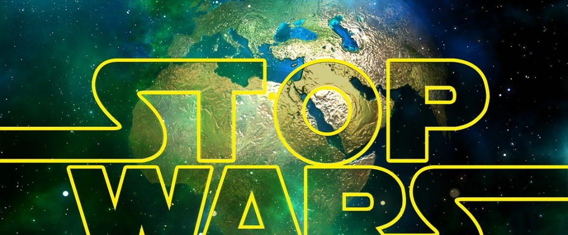 Kriege stoppen -Trump stoppen