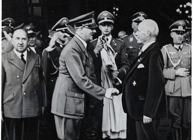 Hitler und Gustav Krupp von Bohlen und Halbach