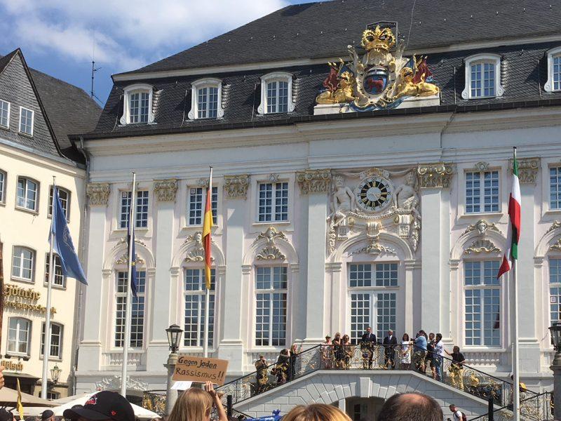 Bonn, Demonstartion gegen Antisemitismus