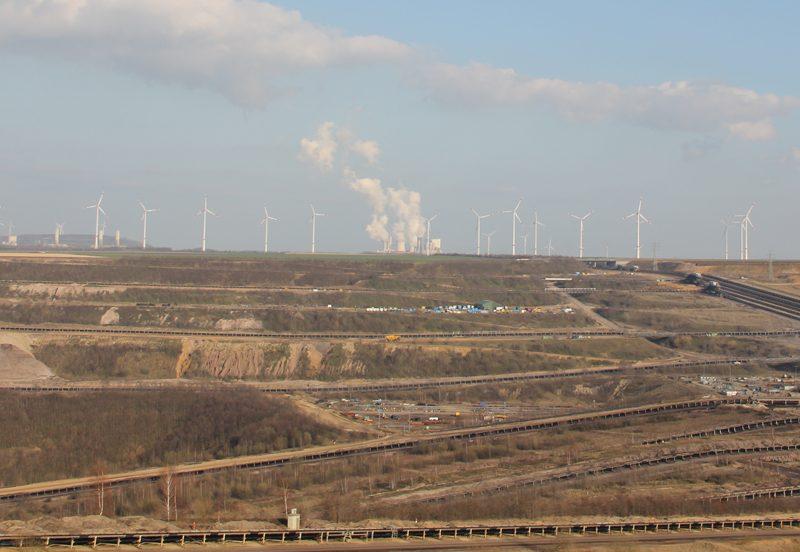 Umweltzerstörung Braunkohlentagebau Garzweiler