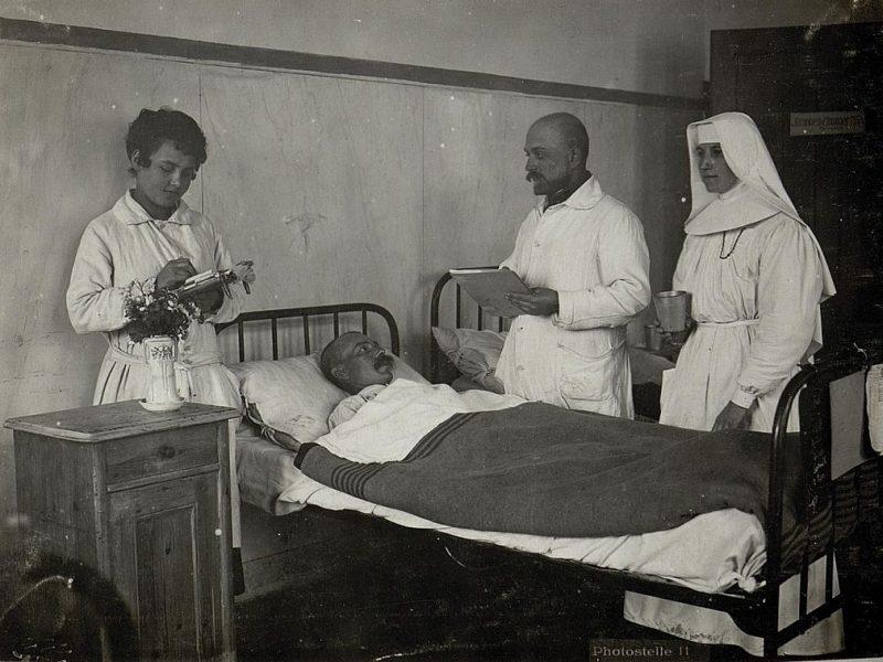 Krankenpflege 1. Weltkrieg
