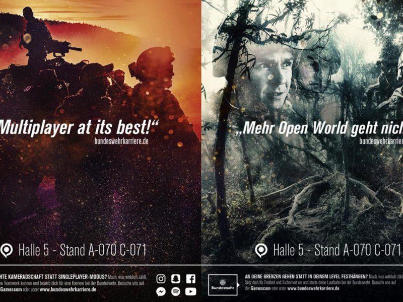 Bundeswehr-Werbung