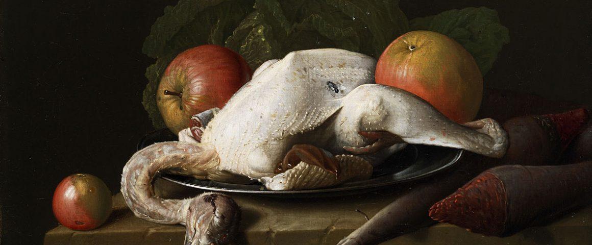 Gerupftes Huhn