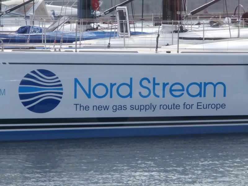 Nord Stream 2 Werbetour