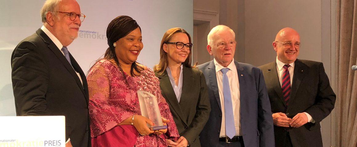 Verleihung des Internationalen Demokratiepreis Bonn