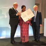 Verleihung des Internationalen Demokratiepreis Bonn (IDP)