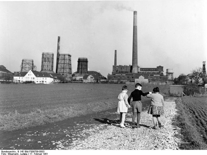 Zeche Mansfeld bei Bochum 1961