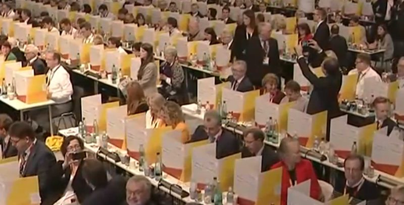 CDU Parteitag Hamburg 2018