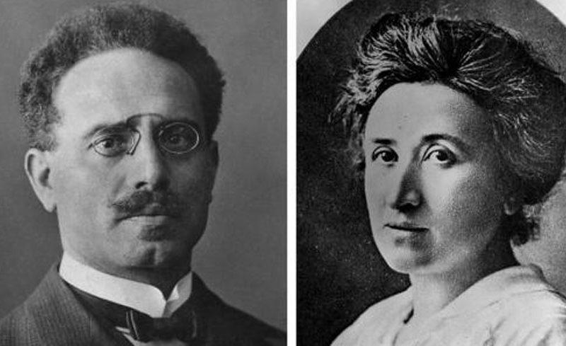 Rosa Luxemburg und Karl Liebknecht