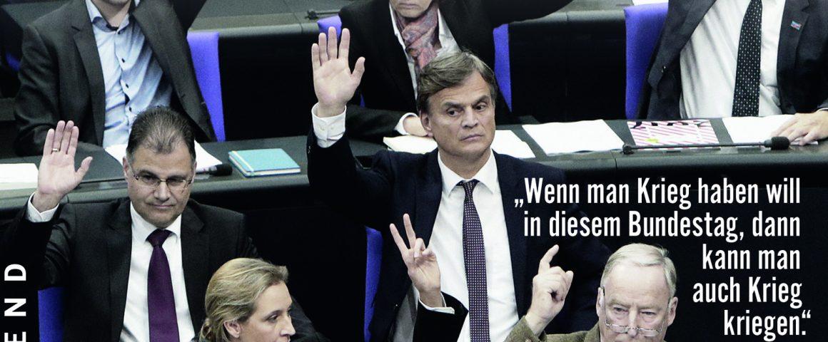 Buchtitel Rechtspopulisten in den Parlamenten