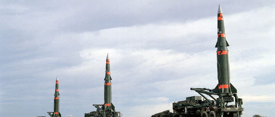 Wettrüsten - Gefahr für den Frieden, Symbolbild