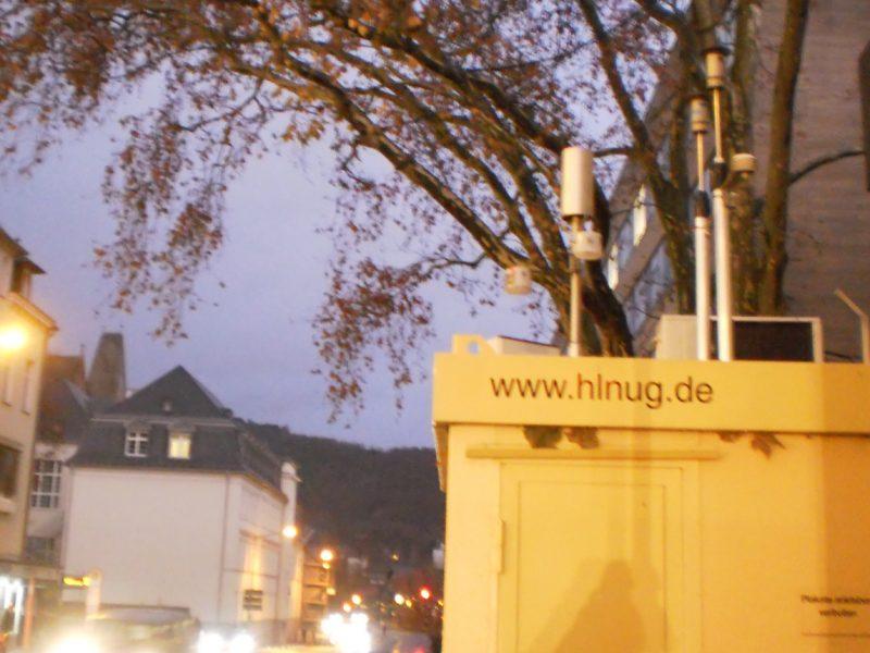 Luftmess-Station