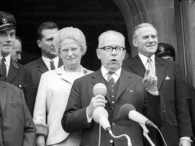 Bundespräsident Gustav Heinemann