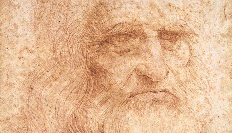 Leonardo da Vinci, Selbstportrait 1512